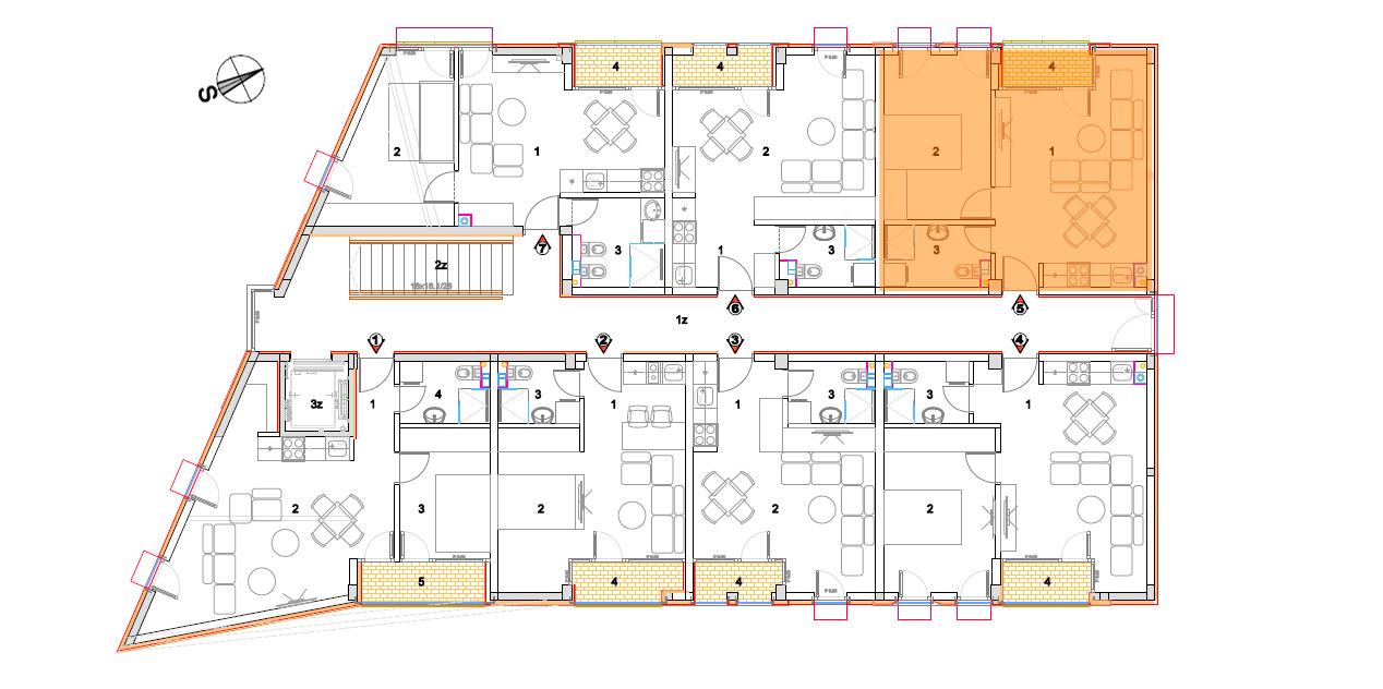Objekat 2 – Apartman 5 – prodato