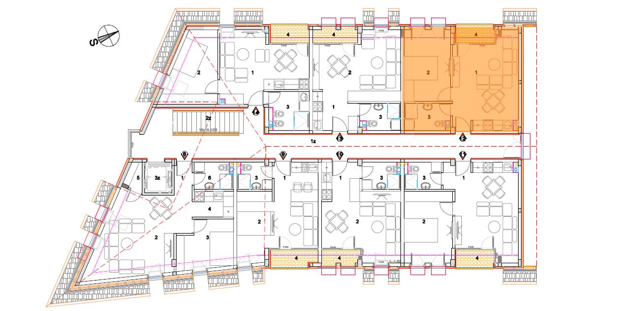 Objekat 2 – Apartman 12 – prodato