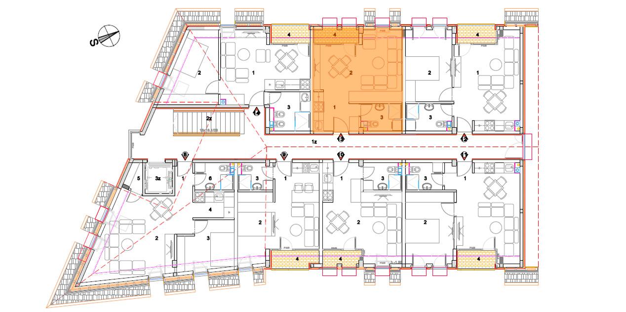 Objekat 2 – Apartman 13