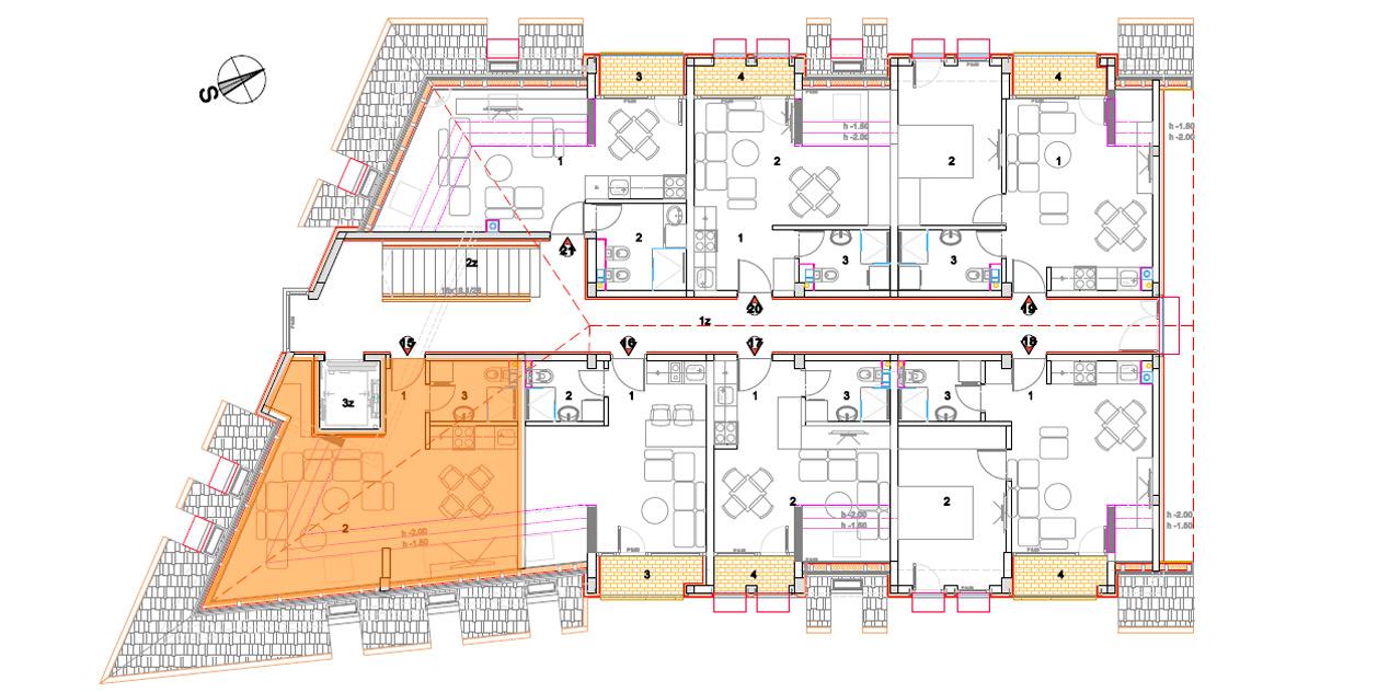 Objekat 2 – Apartman 15