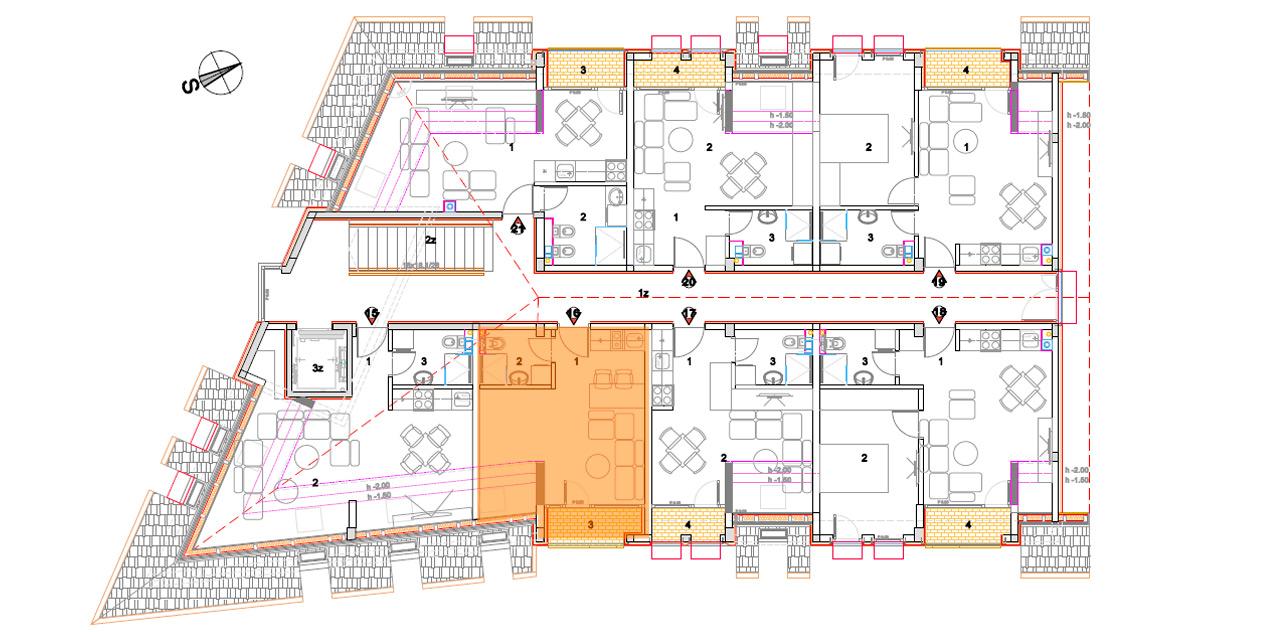 Objekat 2 – Apartman 16 – prodato
