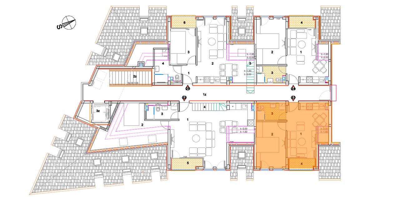 Objekat 2 – Apartman 23 – rezervisano